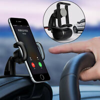 Universal Cell Phone GPS Car Dashboard Mount Holder Stand Hud Clip on Cradle my