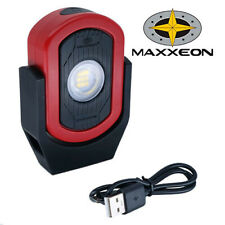 Maxxeon MXN00810 WorkStar Cyclops USB Rechargeable LED Work Light Magnetic