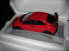 TOP SPEED 1/18 HONDA MUGEN CIVIC TYPE R MILANO RED  TS0113  AWESOME DETAIL RESIN