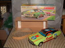 TPS FULLY TIN FORD MUSTANG MACH 1 THE SWINGER W/BOX & FULLY WORKING T.P.S.