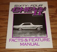 1964 Chevrolet Chevy II Illustrated Facts and Feature Manual 64