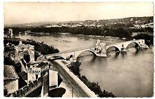 CPSM 84 Vaucluse Avignon Le Pont Saint-Bénézet vu du Rocher du Dom
