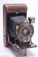 KODAK VANITY VEST POCKET SERIES III BROWN COLORED 127 ROLL FILM W/ 83MM 6.3 LENS