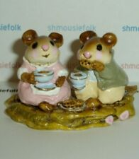 VINTAGE WEE FOREST FOLK    M-74 TEA FOR TWO    1982-1984 RARE