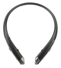 Lg Tone Platinum Bluetooth Wireless Headset Hbs-1100 Black Genuine Retail Box