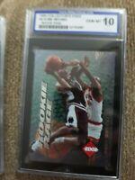 Kobe Bryant 1996 Collector's Edge Rookie Rage Card #6 Isa 10 Gem Mint !!!