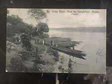 1914 Sakania Belgian Congo Real Picture Postcard Cover Rppc Stanley Falls