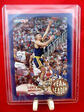 """1992-93 Fleer Team Leader """"Chris Mullin"""" Basketball Gold Insert #9 Warriors Mint"""