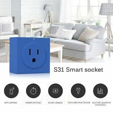 Zettaguard S31 Mini WiFi Smart Remote Control Timer Switch Power Socket Energy