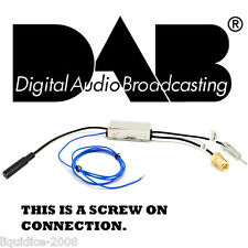 SPLITTER Adattatore Antenna AM FM per DAB / DAB + / DMB-A Radio compatibile CONVERTITORE AUTO