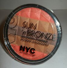 "NYC SUN ""N"" BRONZE BRONZING POWDER ""CORAL SAMBA BRONZER"" SEALED & NEW!"