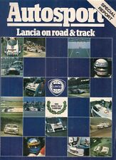 Lancia Autosport Supplement 1983-84 UK Market Brochure Delta Prisma Coupe HPE