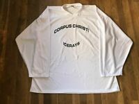 Corpus Christi Ice Rays Authentic Team Issued Practice Jersey NAHL White 56