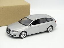 Minichamps SB 1/43 - Audi A6 Avant 2008 Silver