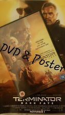 Terminator: Dark Fate (DVD, 2019) & Poster