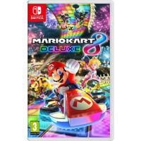 Mario Kart 8 Deluxe Nintendo Switch Video Game Sealed