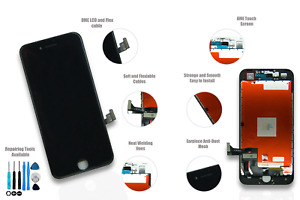 iPhone 7 Black LCD Screen Replacement *Life time Guarantee*