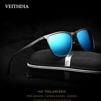 VEITHDIA Aluminum HD Polarized Sunglasses Men UV400 Driving Outdoor Sun Glasses