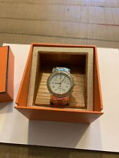 Hermes Clipper Chronograph Watch With Original Papers. Needs New Battery