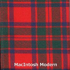 Scarf Clan MacIntosh MacKintosh Modern Tartan Scottish Wool Plaid