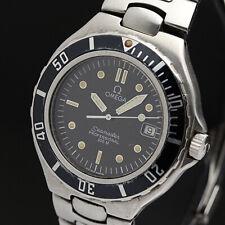 OMEGA Watch Seamaster PROFESSIONAL 200M Black   Quartz St.Steel Date   T2202