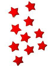 Fahrradaufkleber Reflektierende Aufkleber Rot Sterne Reflexfolie Reflektor