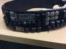 Diesel Leather Patternless Belts for Women