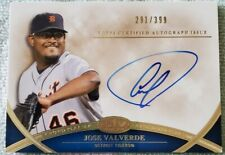 JOSE VALVERDE DETROIT TIGERS 2012 Topps Tier One Crowd Pleaser Autograph #291.