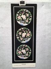 "Katana Crane - Louise's Oriental Arts - 1980 Poster 7.5"" x 19.5"""