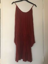 Cut Out Shoulder Dress, Rust, Size 10, Atmosphere, Never Worn