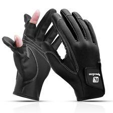 1 Pair Fishing Gloves Men 2 Cut Finger Anti-Slip Crap Fishing Casting Protector