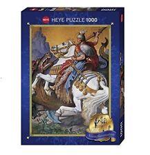 INSIDE NEUSCHWANSTEIN - ST.GEORGE - Heye Puzzle 29733 - 1000 Pcs.