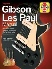 Haynes Gibson Les Paul Manual Electric Guitar Maintain Repair Tune New Book