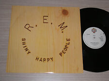 "R.E.M. - SHINY HAPPY PEOPLE - MAXI-SINGLE 12"" UK"