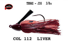 MOLIX TENAX JIG  3/8 OZ GR 10,5 COL 112 LIVER