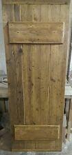 Rustic old world reclaimed timber doors Finished Door £110Two Ledge version Door