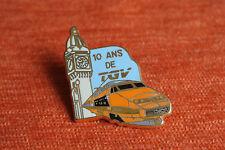 11182 PIN'S PINS BALLARD SNCF TRAIN 10 ANS DE TGV GARE DE LYON PARIS HORLOGE