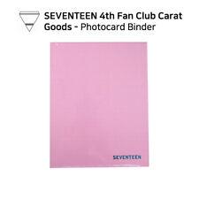 SEVENTEEN - Fan Club Carat 4th term Official Goods  - Photocard Binder
