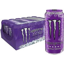 Monster Energy Ultra Violet, Energy Drink, 16 Ounce (Pack of 24) Free Shipping