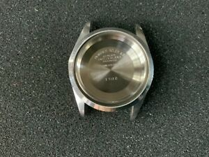 Authentic Rolex Ref 1500 DateJust SS case, case back and bezel For 34MM