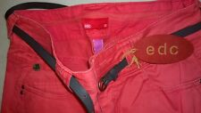 EDC by ESPRIT Ladies Red Jeans - Denim 32 (UK size 6)