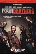 Four Brothers (DVD) Mark Wahlberg Garrett Hedlund Tyrese Gibson Andre Benjamin