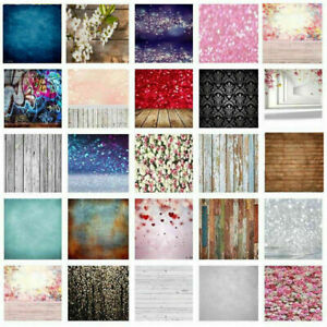 Flowers Wood Wedding Photography Backdrop Photo Background Cloth Home Wall Decor