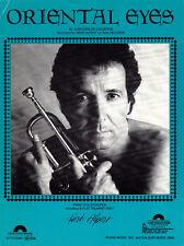 ORIENTAL EYES Music Sheet-1983-CALDERON-Piano Solo Plus Trumpet Solo-HERB ALPERT