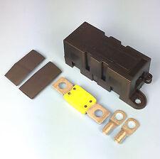 Qualità Heavy Duty Mega scatola portafusibili con 100 Amp MEGA fusibile morsetti Calore Strizzacervelli