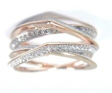 GENIUS RING WHITE CRYSTAL SIZE 6 EUR 52 ROSE GOLD 2017 SWAROVSKI JEWELRY 5294942