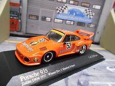 Porsche 911 935 Turbo Max Moritz Jagermeister #52 Schurti 1977 Minichamps 1:43