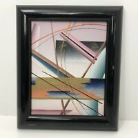 Contemporary Modern Abstract Original Oil on Canvas Personal Preference 8 X 10
