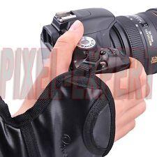 CINGHIA DA POLSO AVVOLGENTE NIKON FOTOCAMERA D7100 D5300 D5200 D5100 D3300 D3200