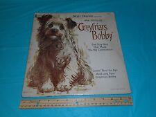 Walt Disney presents the story of Greyfriars Bobby 1961 rare album ST-1914 used